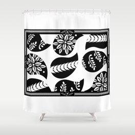 Mehindi Three Shower Curtain