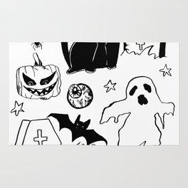 Halloween Doodles 1 Rug