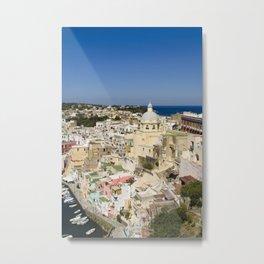 Procida Island, Italy Metal Print