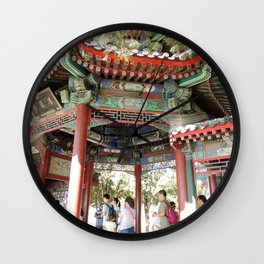 Beijing Covered Gallery | Galerie couverte Wall Clock