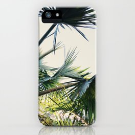 Palm Trees | Lightness Of Being | Meditative State iPhone Case