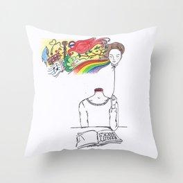 Reality Sucks Throw Pillow