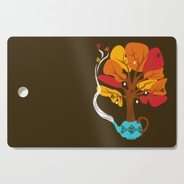 Tea Leaves Cutting Board
