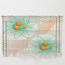 Mid-Century Modern Art Atomic 1.0 Wall Hanging