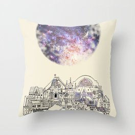 Cincinnati Fairy Tale Throw Pillow