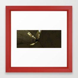 Did You Hear That? Framed Art Print