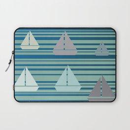 Boats & Stripes Laptop Sleeve