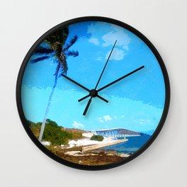 Bahia Honda Overlook Wall Clock