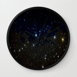 SPACE BACKGROUND Wall Clock