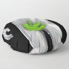 Digital Adam Floor Pillow