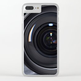 Photo lens front Clear iPhone Case