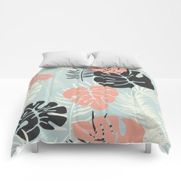 Tropical pattern 049 Comforters