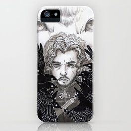The crows and the wolf iPhone Case