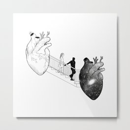 The way i loved your fantasy. Metal Print