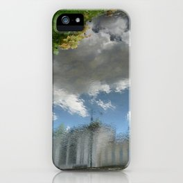 Dublin Grand Canal Reflections iPhone Case