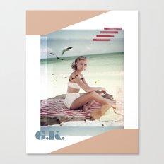 G.K. Collage Canvas Print