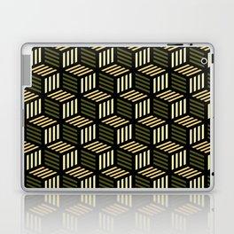 Cubic Olive Laptop & iPad Skin