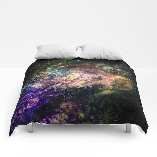 Cotton Candy Nebula Comforters