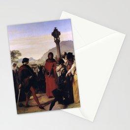 Francesco Hayez - The Sicilian vespers Stationery Cards