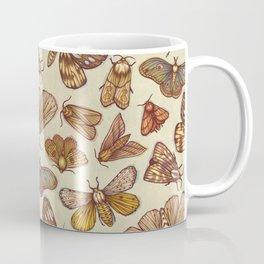Moth Pattern Coffee Mug