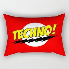 Techno Bazinga Rectangular Pillow