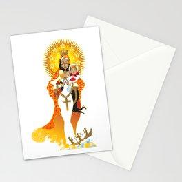La Virgen de la Caridad del Cobre Stationery Cards