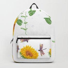 Glendale City Sunflower hope love Gifts For Men Women Backpack