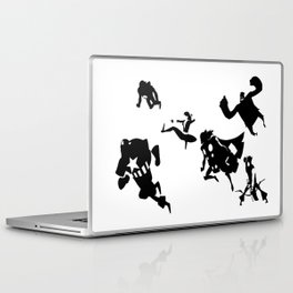 The Avengers Minimal Black and White Laptop & iPad Skin