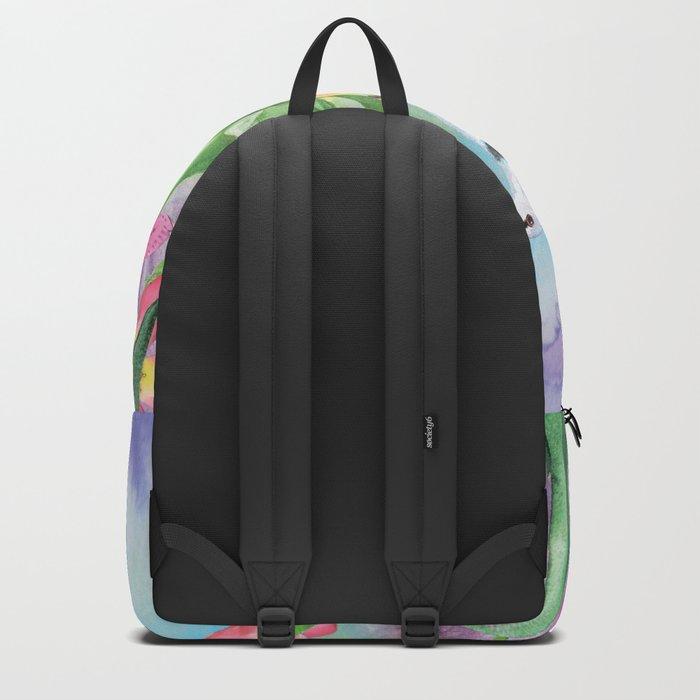 Macro Flower #17 Backpack