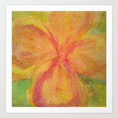 Annie Flower Art Print
