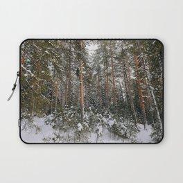 Winter in the wildwood. Laptop Sleeve