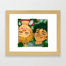 haikyuuties Framed Art Print