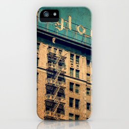 1924 Gaylord Apartments Vintage Neon Sign  iPhone Case