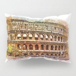Colosseum Rome Pillow Sham