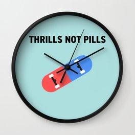 Thrills Wall Clock