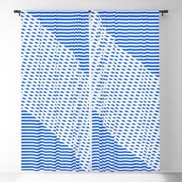 Ovrlap Blue Blackout Curtain