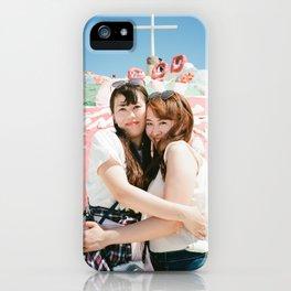 Holy Girls iPhone Case
