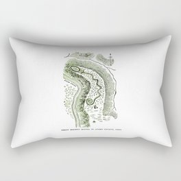 Great Serpent Mound Rectangular Pillow