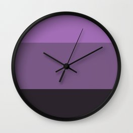 Deep Lavender Dream 2 - Color Therapy Wall Clock