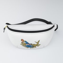 Drink Like A Fish Funny Beer Gift Party Gag Gift Fanny Pack