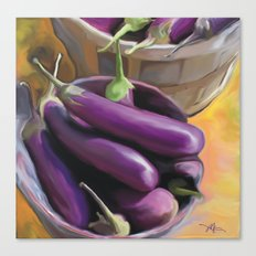 eggplant / food Canvas Print
