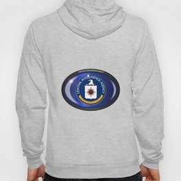 CIA Flag Oval Hoody