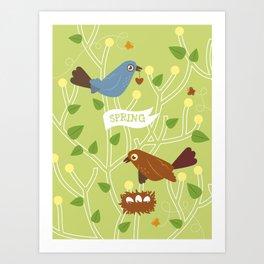 4 Seasons - Spring Art Print