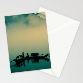 Mekong highway Stationery Cards