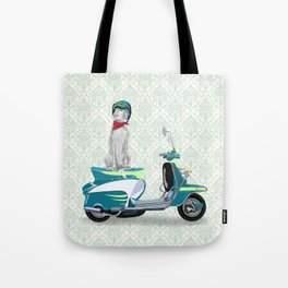 WEIM SCOOTER Tote Bag