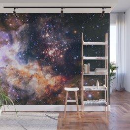 Celestial Fireworks Wall Mural