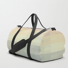 Calm pastel morning Duffle Bag