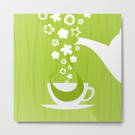 Tea Metal Print