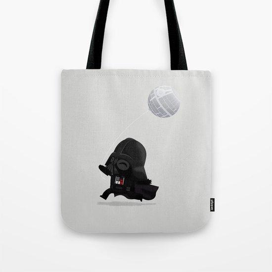 Beware, the Darth Star Tote Bag