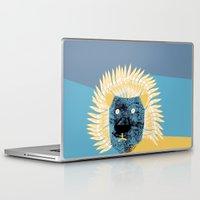 leon Laptop & iPad Skins featuring Lion leon by yael frankel